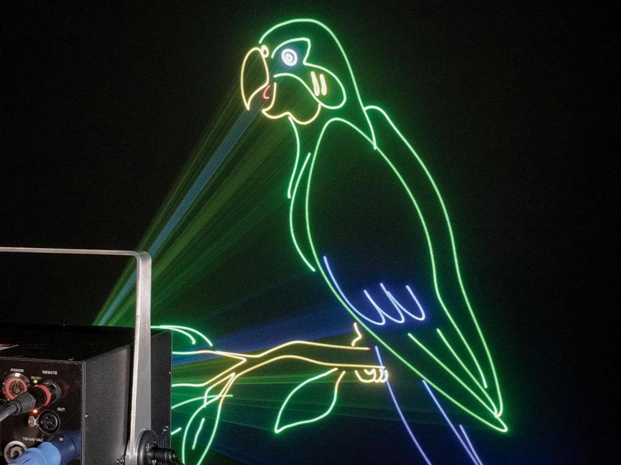 Unity ELITE 10 PRO FB4 Laser Light Show Projector