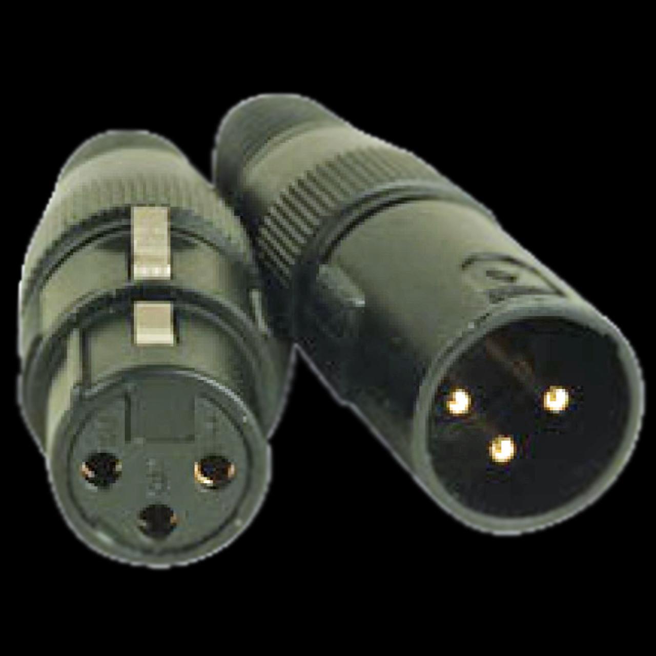 Accu Cable 25 Ft 3 Pin DMX PRO Cable / AC3PDMX25PRO