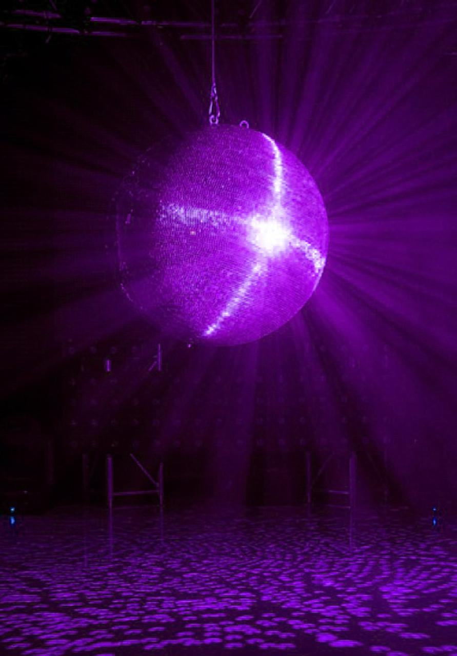 Adj Large 40 Quot Glass Nightclub Disco Mirror Ball