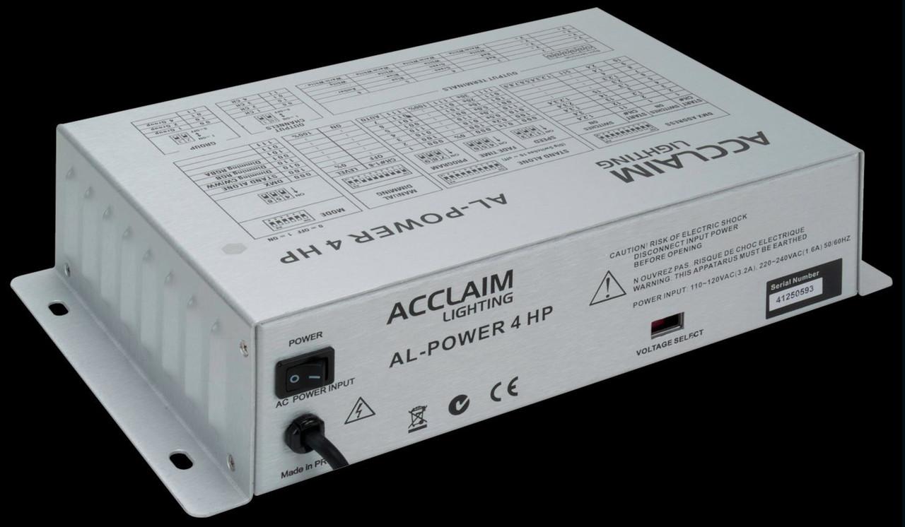 Acclaim AL Power 4 HP LED High Performance Driver & Power Supply
