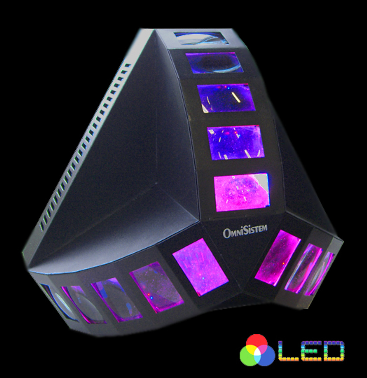 Omnisistem Apex LED Tri Wave Multi Beam DJ Light
