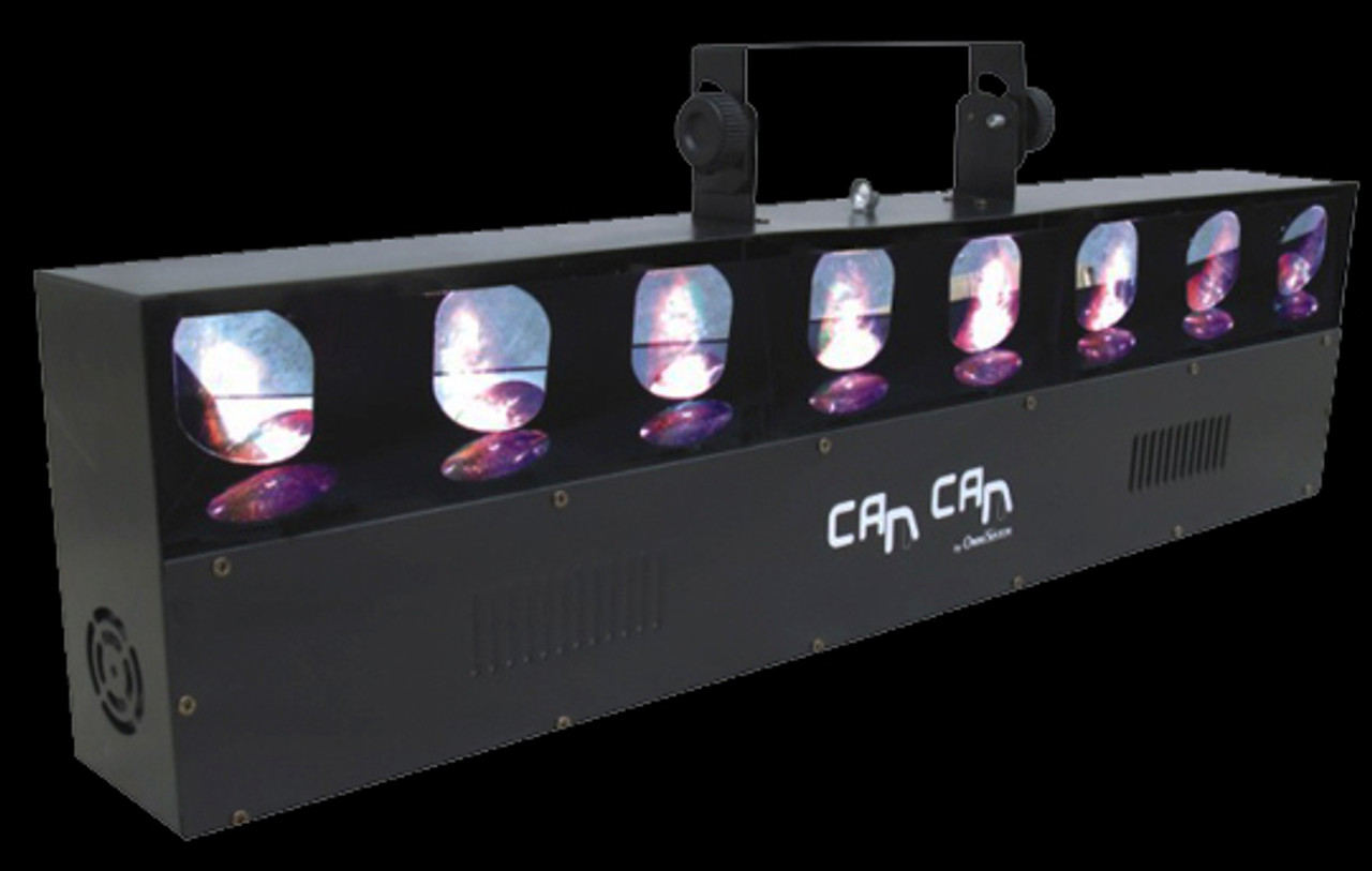 Omnisistem Can Can Beam Scan DJ Lighting Fixture