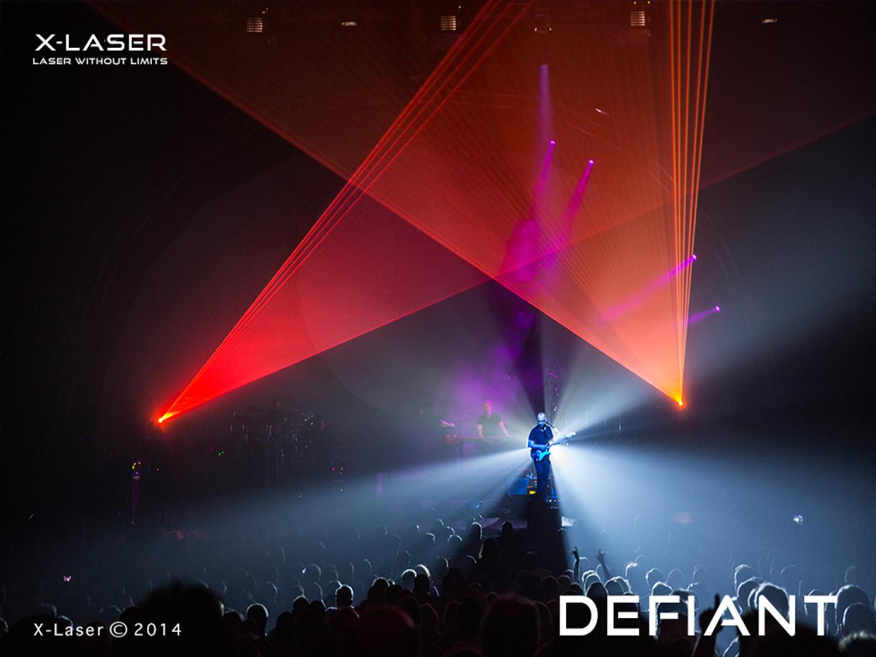 X-Laser Defiant RGB Laser / Polaris Audience Immersion Technology