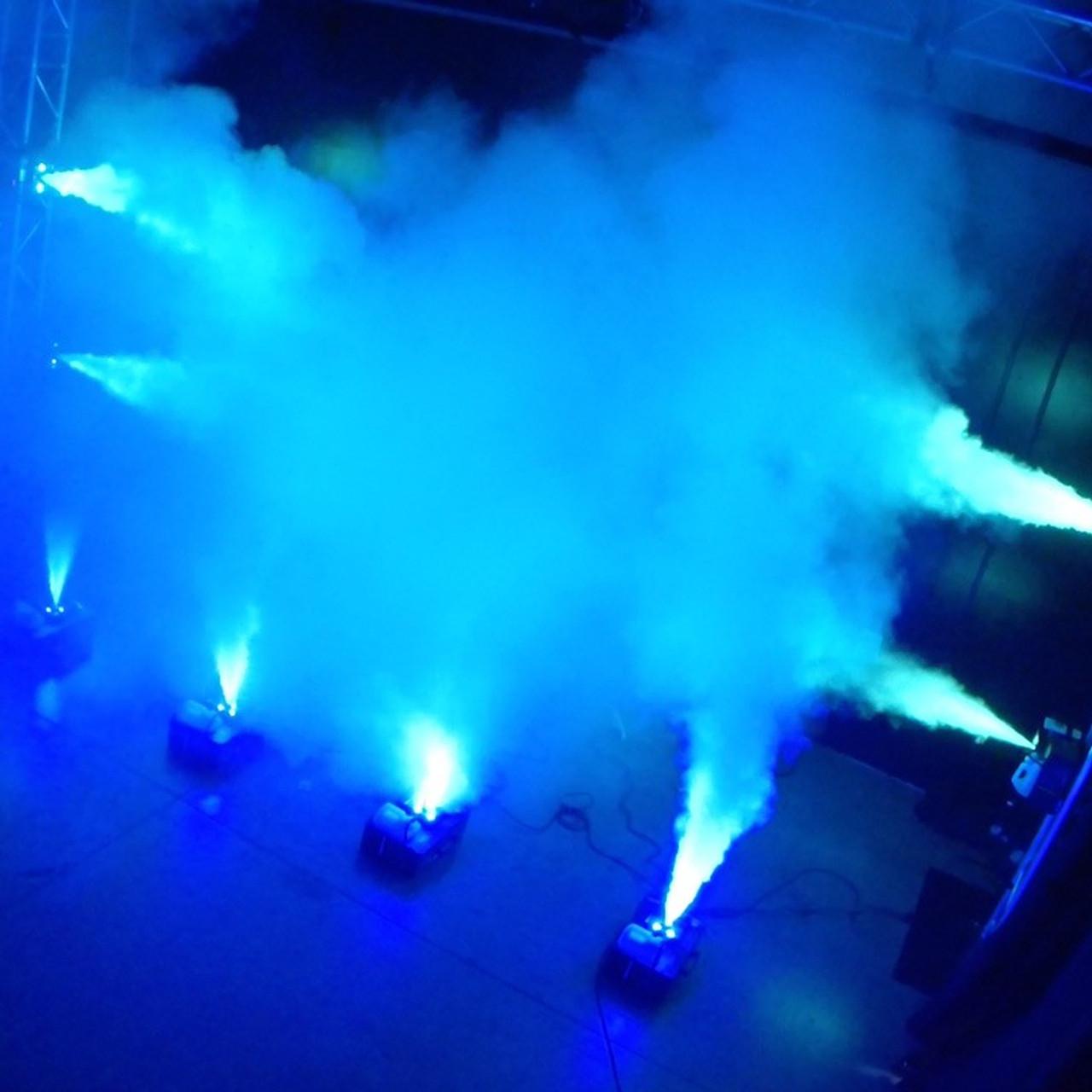 ADJ Fog Fury Jett  Vertical Fog Machine w/ LED Color Fog