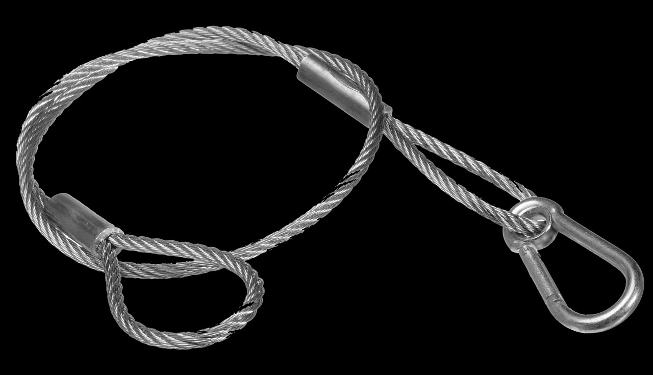 ADJ 24 Inch Steel Lighting Systems Safety Cable