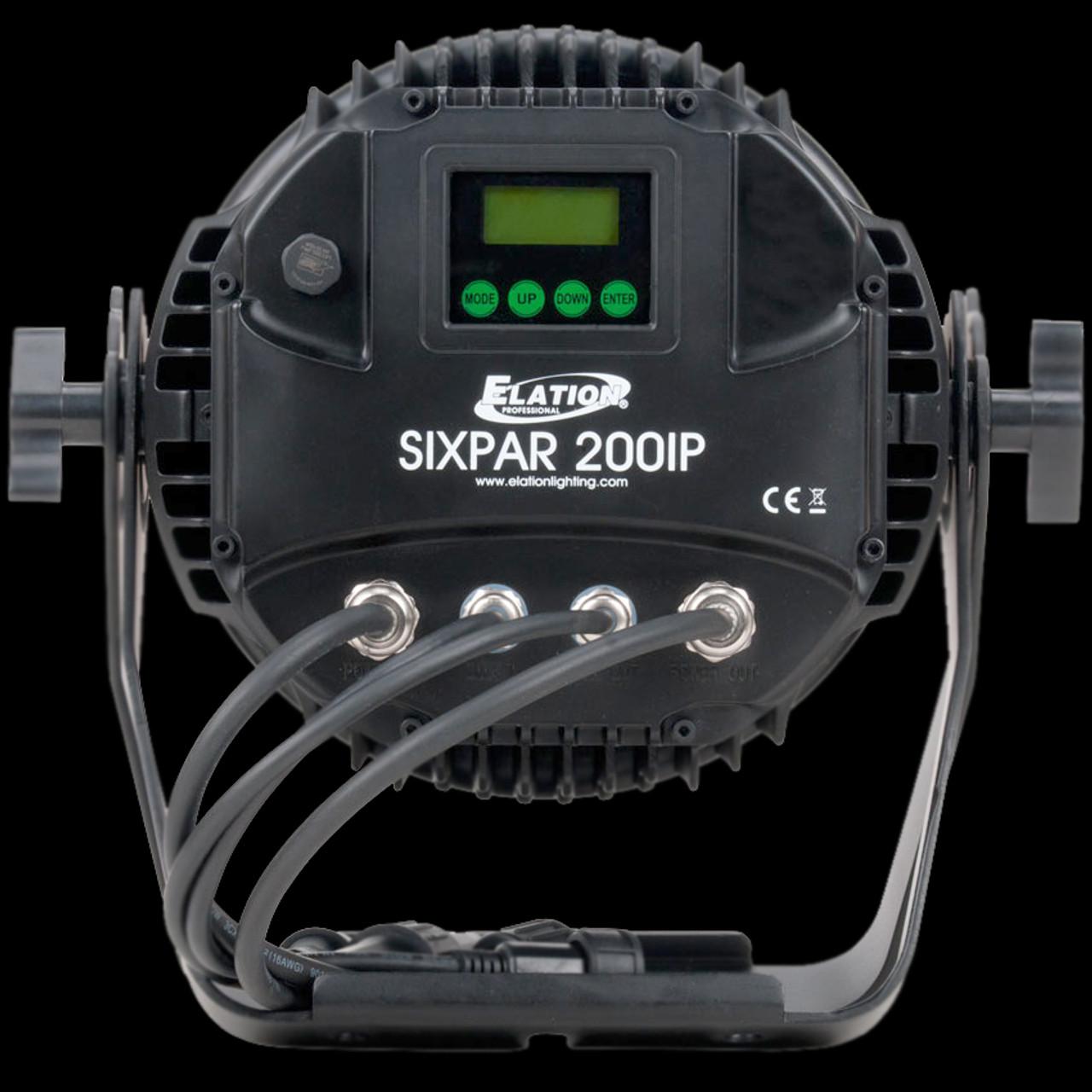 Elation Six Par 200 IP Outdoor LED Par Can Light / RGBAW+UV
