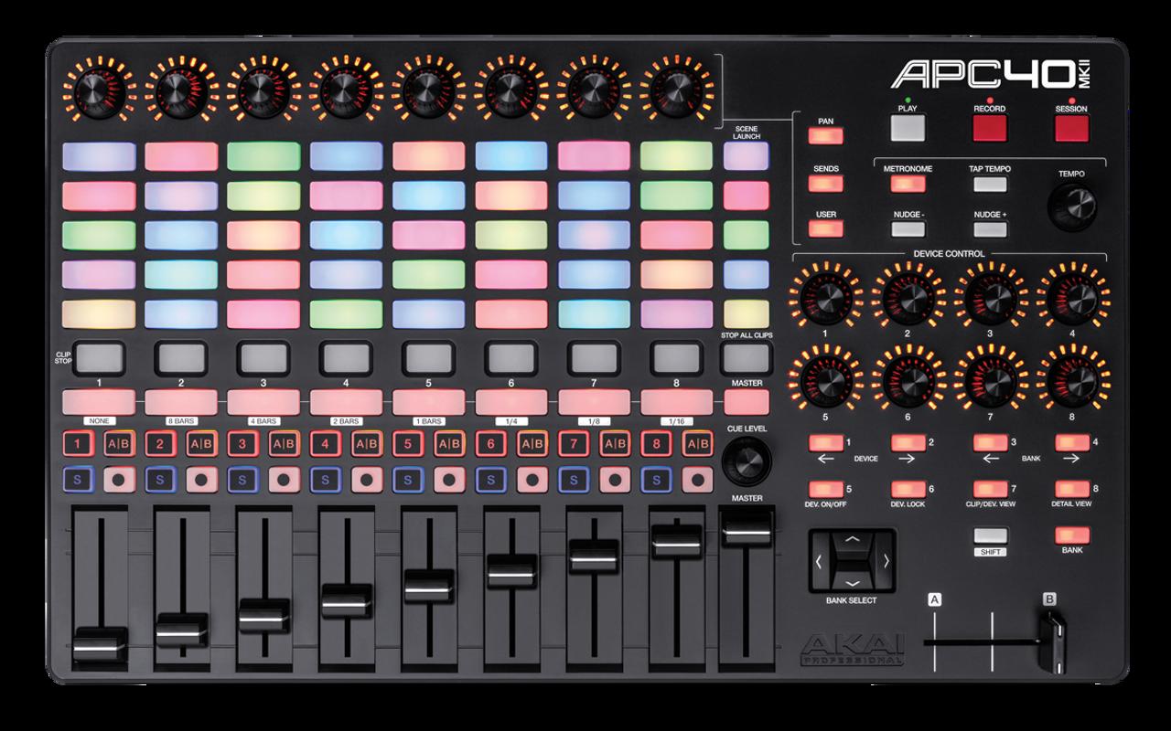 AKAI Ableton APC40 MKII / Live Performance Laser Midi Controller