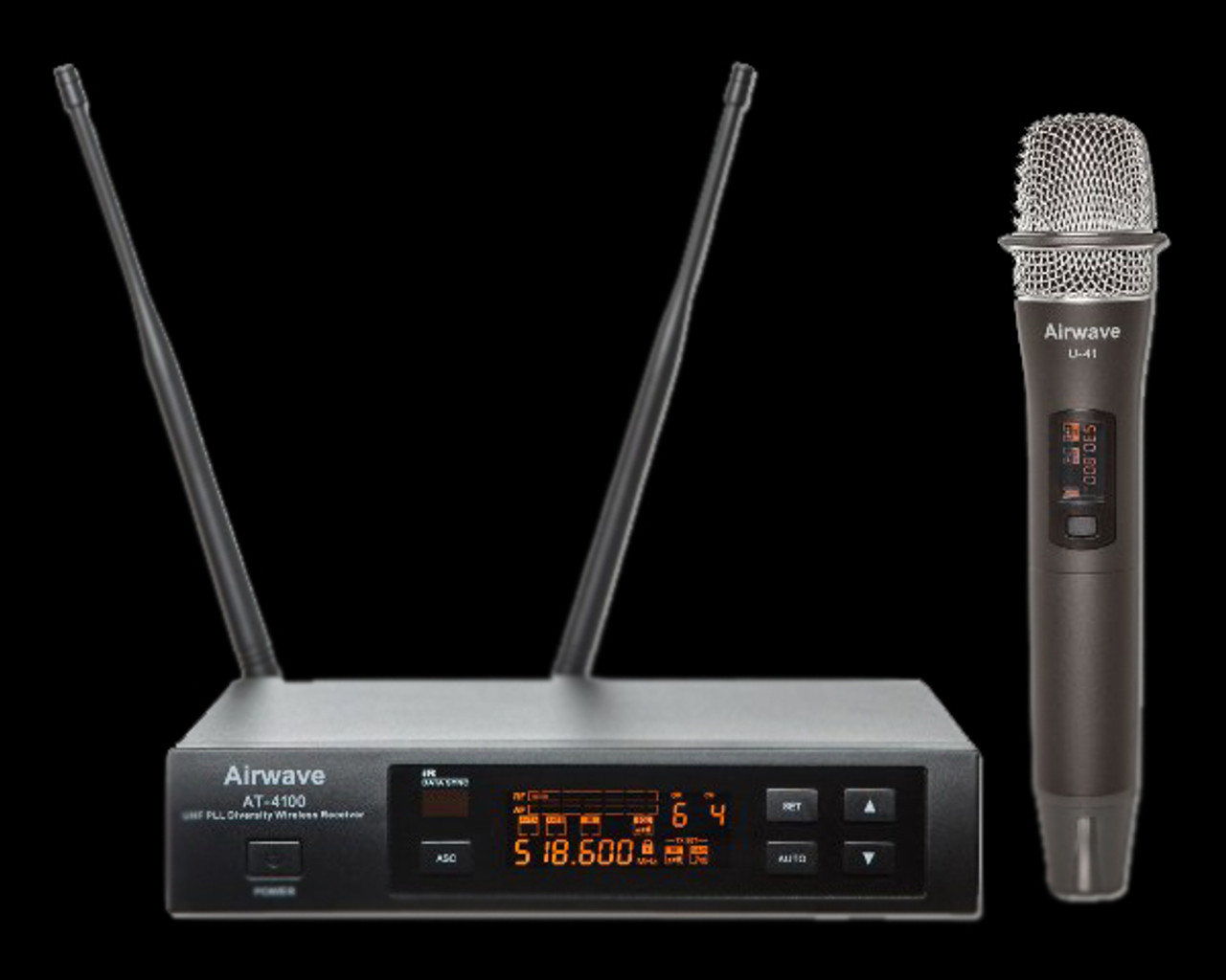 Airwave AT-4120 UHF Bodypack / Lavalier Wireless Microphone System