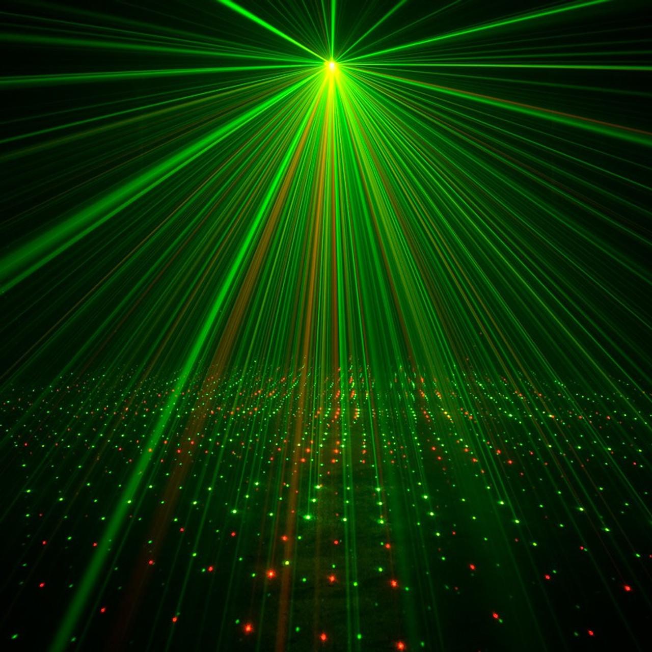 ADJ Micro Galaxian II - Red / Green Starburst Effect Laser