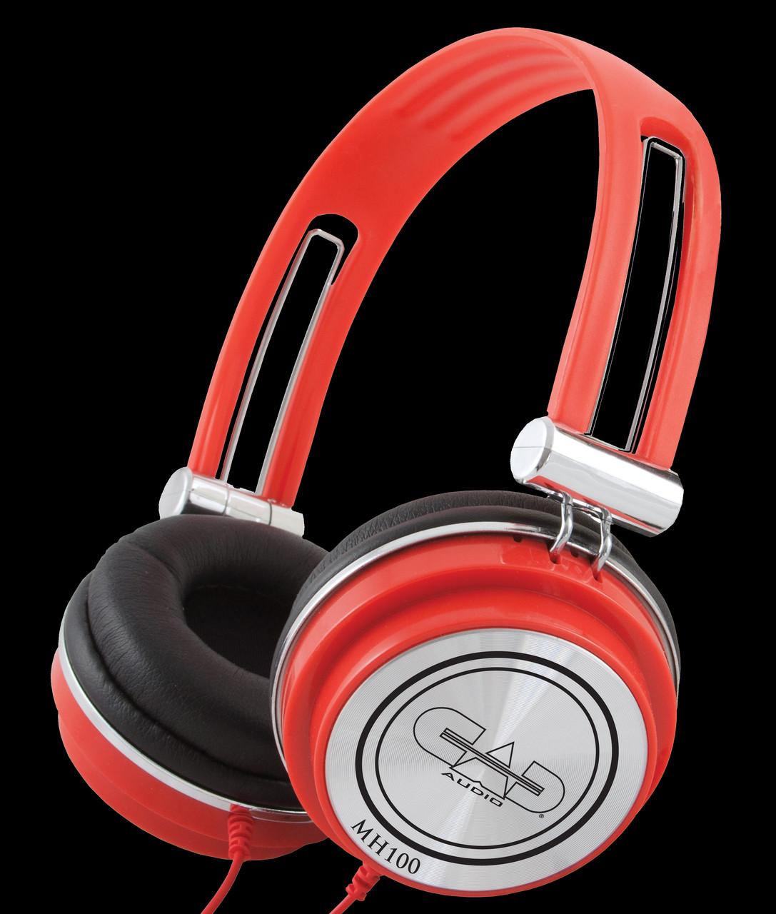 CAD Closed-back Light / Compact DJ Studio Headphones
