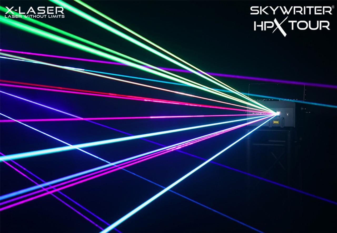 X-Laser Skywriter HPX M5- 5W RGB Laser