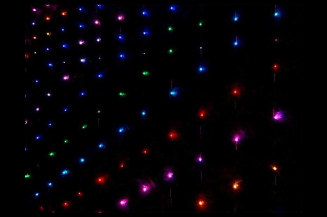 Omnisistem 20 x 15 Ft. RGB LED DJ Curtain / Backdrop