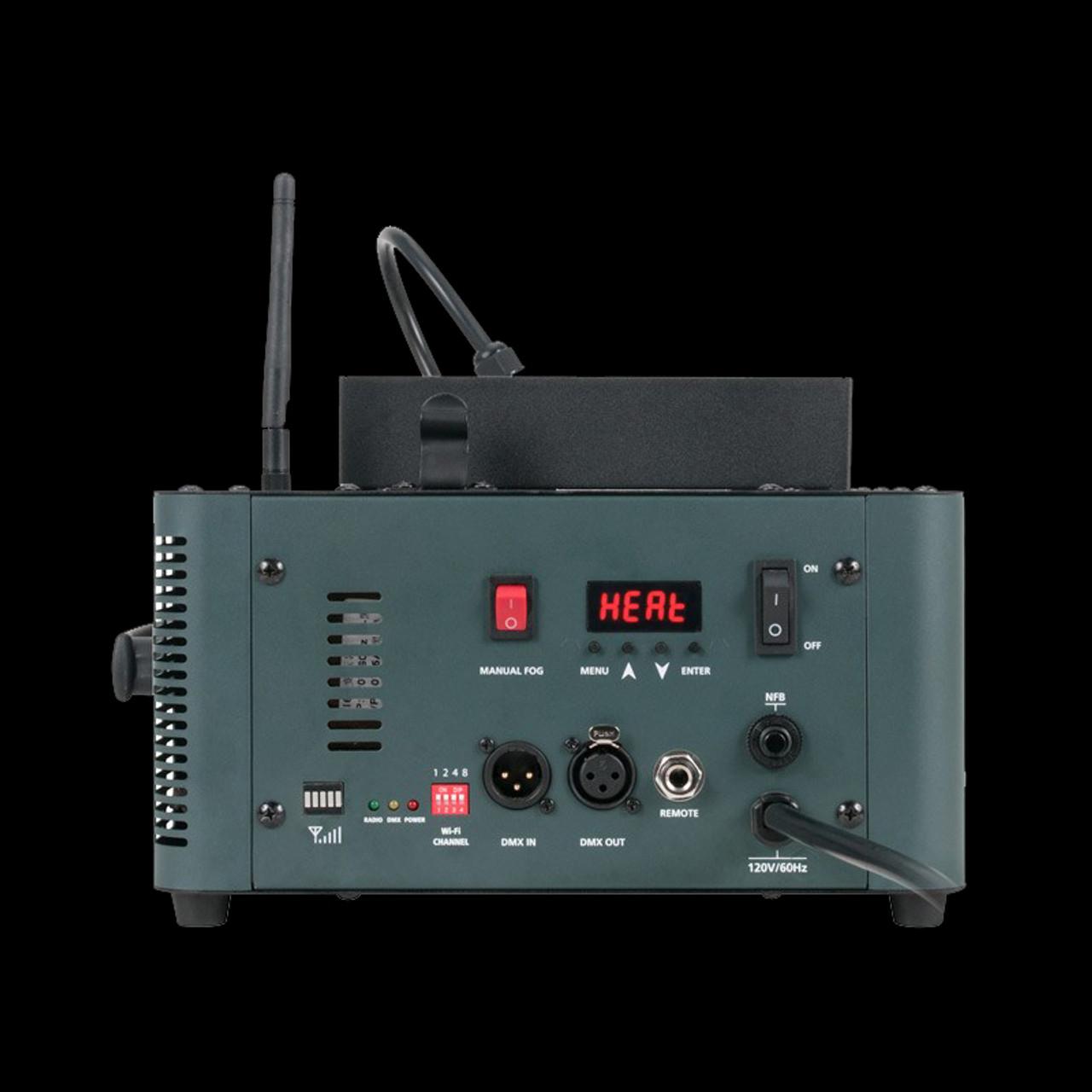 ADJ Fog Fury Jett PRO Fog Machine w/ Light up LED Fog