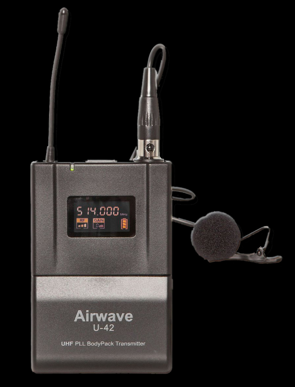 Airwave AT-4200 Rental Pak 2 Channel Wireless System Package