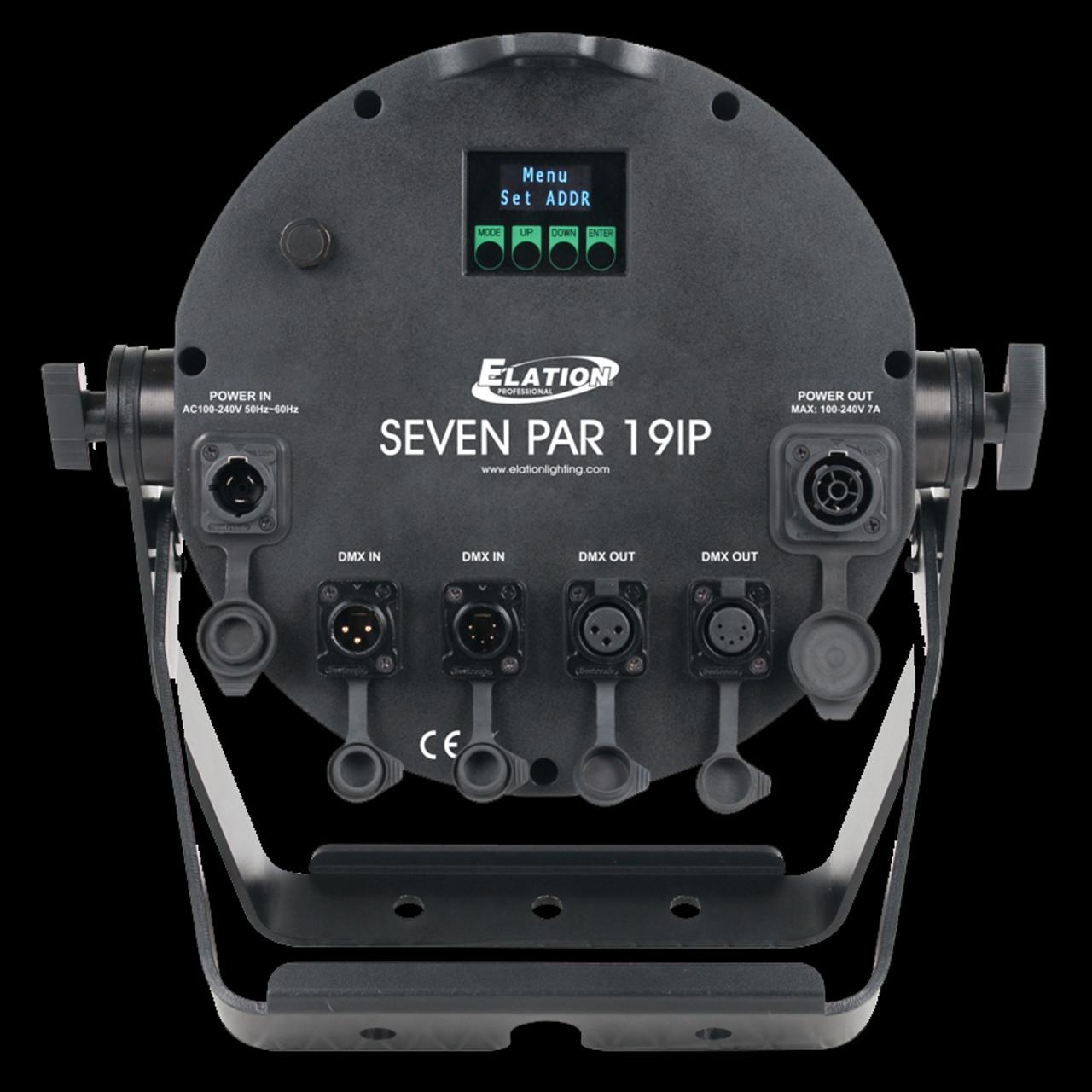 Elation SEVEN PAR 19IP IP65 Outdoor LED Par Can Wash Light