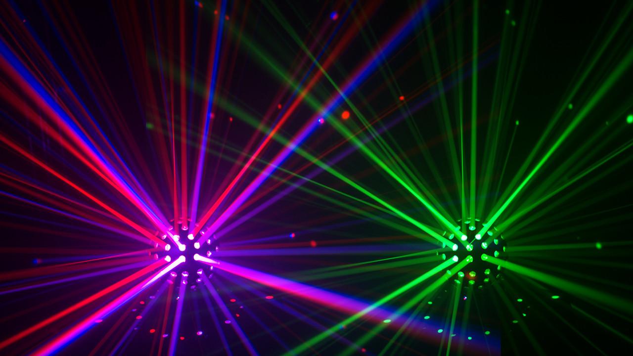 Chauvet DJ Rotosphere Q3 LED RGBW Mirror Ball Effect Light