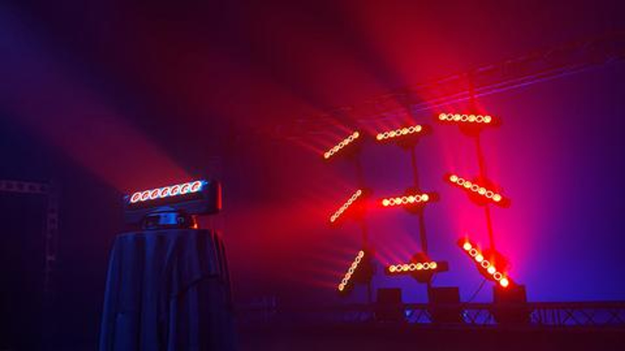 Blizzard Lighting LOOP LED Multi-beam Moving Head