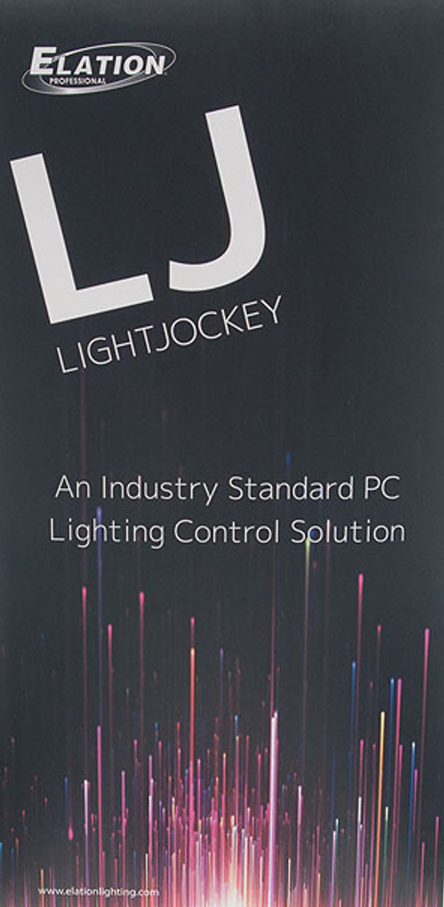 LightJockey 2 Windows-based DMX Controller Software Package