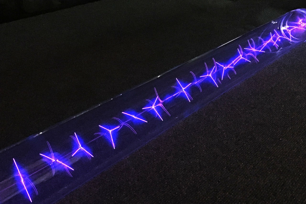 Phantom Dynamics Tulpa Plasma Lighting Display Tube