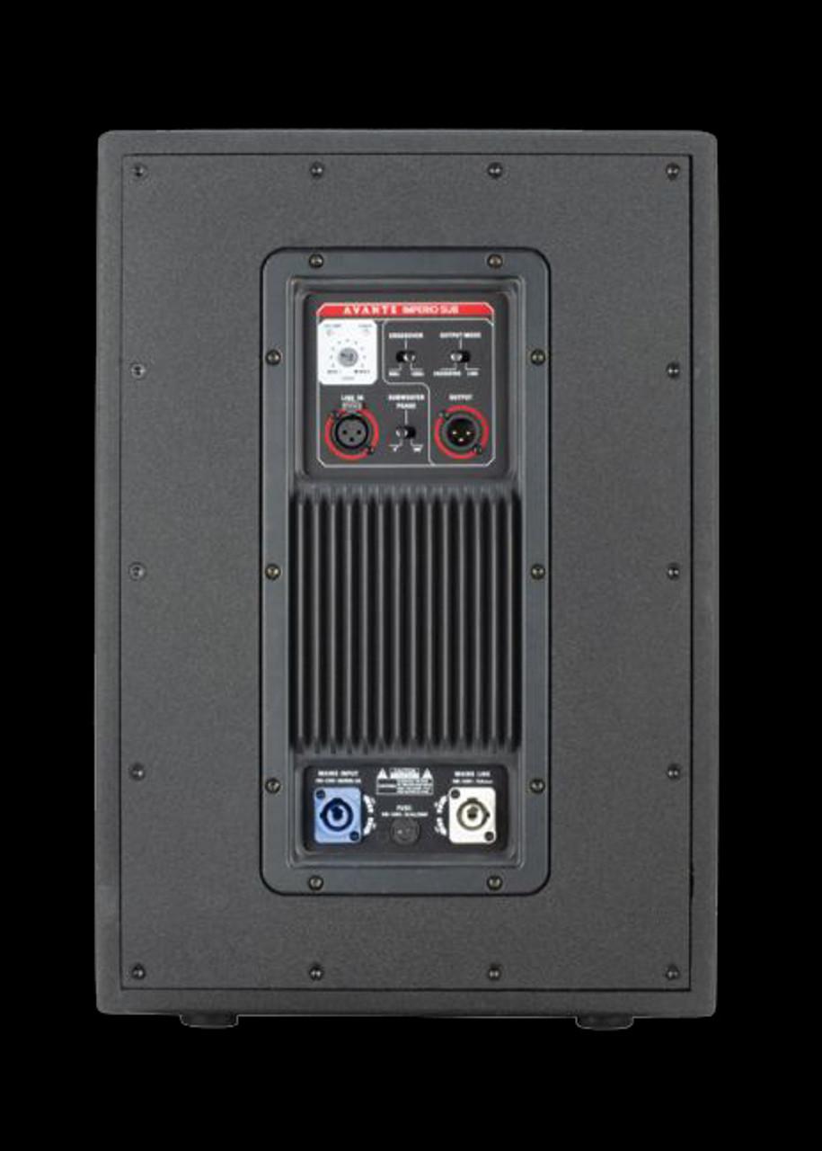 Avante Imperio IMP400  10-inch, 400 Watt Powered Subwoofer