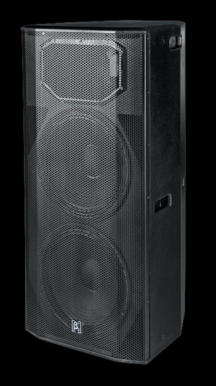 "Beta 3 Dual 15"" Two Way Full Range Active Speaker"