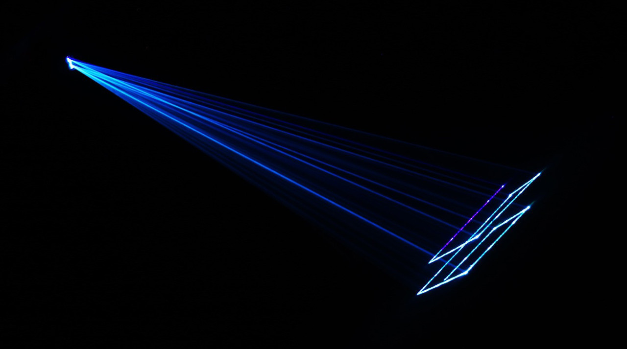 Blizzard Lighting 250mW Fat Beam RGB Laser Projector