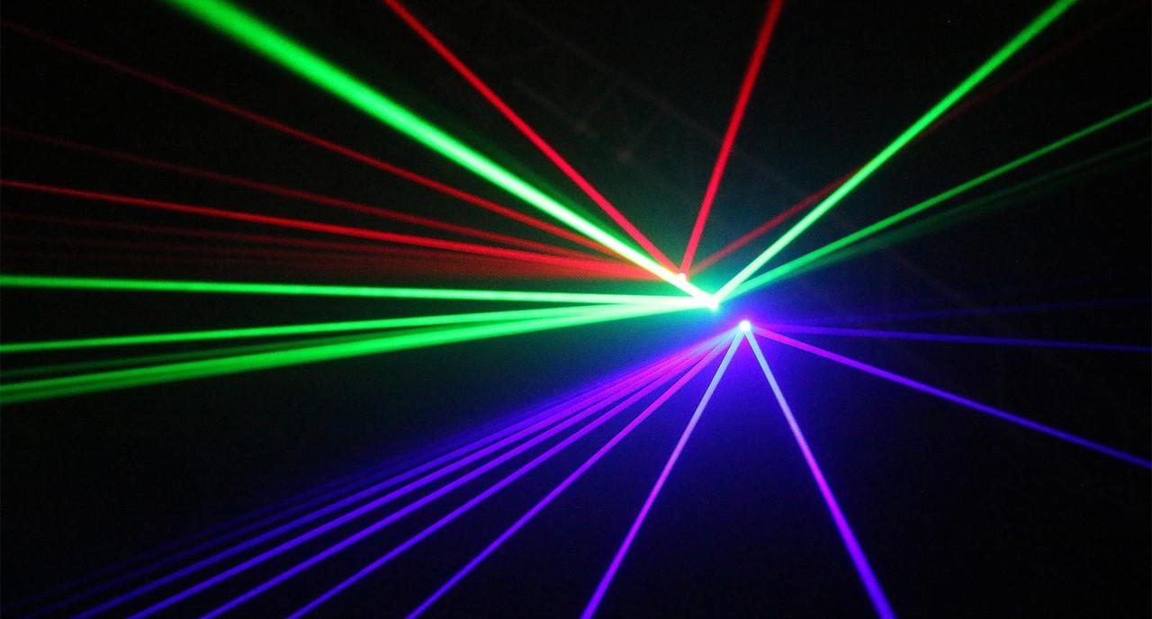 Blizzard Lighting Pocket Pulsar Triple Aperture RGB Laser Projector