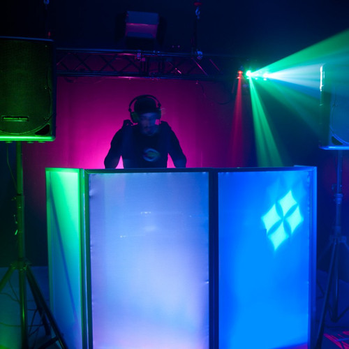 Dj Event Facades And Scrims Phantom Dynamics