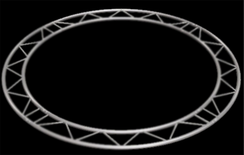 "Global Truss 12"" I Beam Vertical / Horizontal Circle / 19.69ft. (6.0m)"