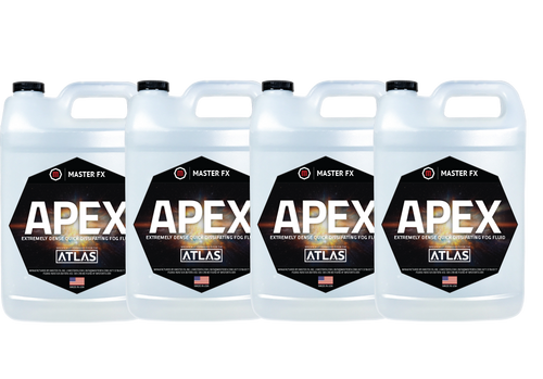 Master FX Apex Extremely Dense Quick Dissipating Fog Fluid