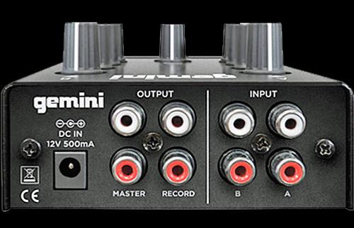 Gemini MM1 - 2-Channel Compact DJ Mixer / w Bluetooth