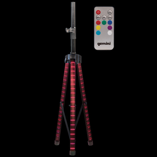 Gemini STL-100 LED Lighted Speaker Stand