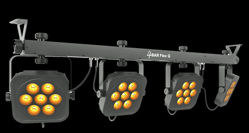 Chauvet 4BAR Quad RGBA LED Par Can Lighting System