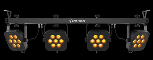 Chauvet DJ 4Bar Flex Q RGBA LED Wash Bar Lighting System