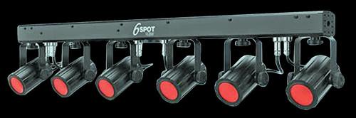 Chauvet 6SPOT RGBW LED Par Can Lighting System