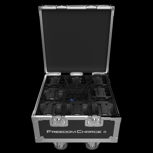 Chauvet DJ Freedom Charge 8 Compact Charging Road Case