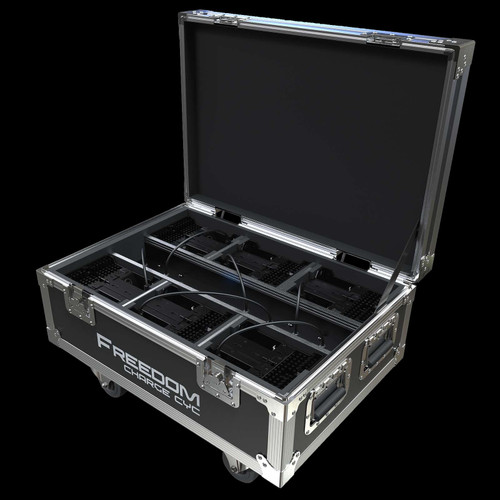 Chauvet DJ Freedom Charge Cyc Compact Charging Road Case