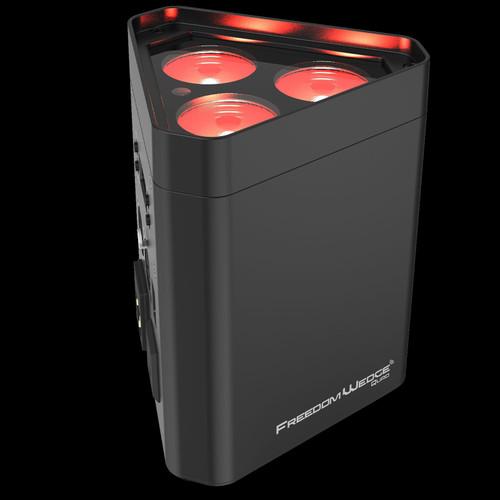 Chauvet DJ Freedom Wedge Quad Triangular Quad-Color LED Wash Light w/ D-Fi Transceiver