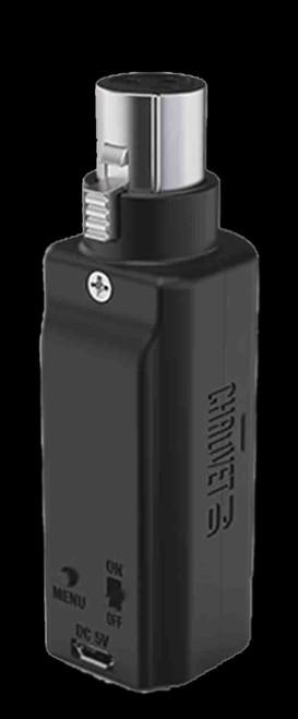 Chauvet D-Fi XLR RX, Wireless DMX D-Fi Receiver Battery Powered