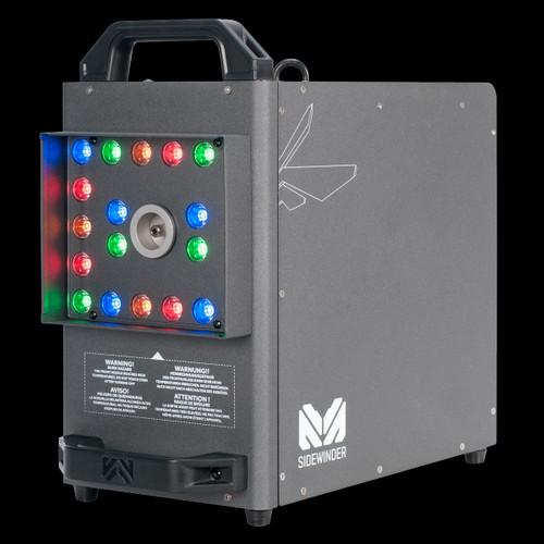 Magmatic Sidewinder High Velocity CO2 Simulator Fog Machine w/ LED Lights