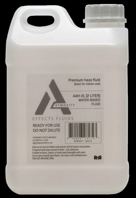 Elation Atmosity Water Based Haze Machine Refill Fluid