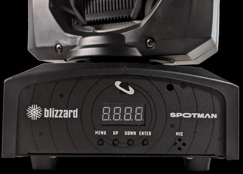 Blizzard Lighting Spotman 30W Mini Moving Head