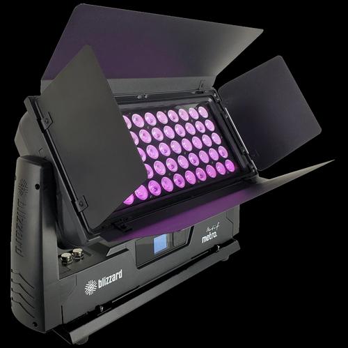 Blizzard Lighting Motif Metro Bright IP65-Rated RGBW Wash Light