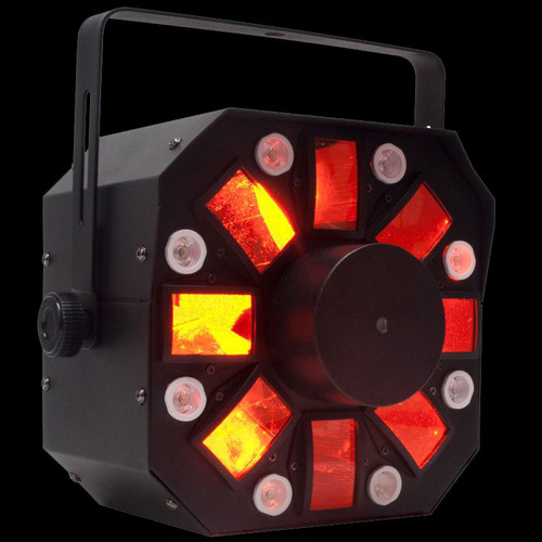 ADJ Stinger 3-FX-In-1 Moonflower / Strobe / Laser DJ Effect Light