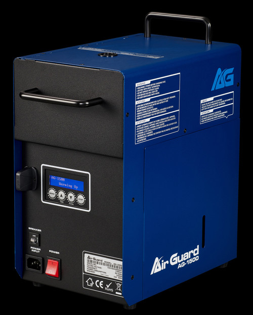 Air Guard AG-1500 Sanitizing Machine w/ Timer / Wireless Remote