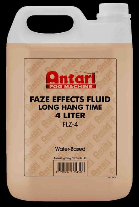 Antari 4L FLZ-4 Preimum Water Based Fazer Fluid