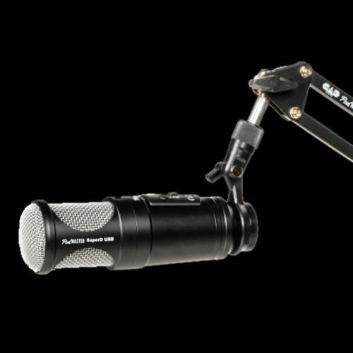 CAD PodMaster SuperD-USB Professional Broadcast / Podcasting Microphone