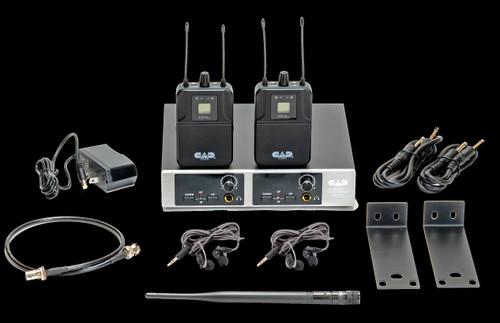 CAD GXLIEM2 Dual GXLIEM Wireless In Ear Monitor System