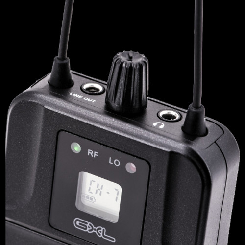 CAD GXLIEMBP GXLIEM BodyPack Receiver / MEB1 Earbuds Included