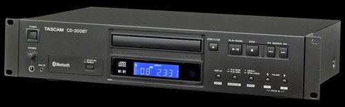 TASCAM CD-200BT Professional CD Player w/ Bluetooth Receiver
